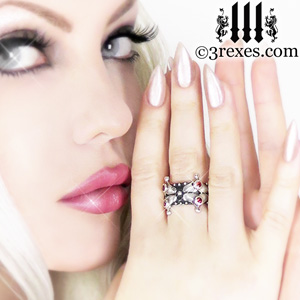 elena-lovers-fairy-crown-ring-garnet-stone-3-rexes-jewelry