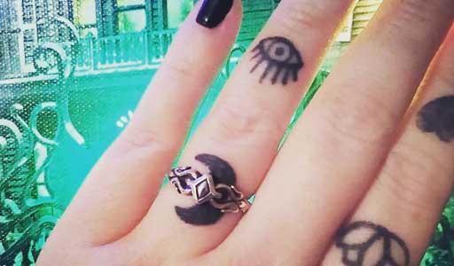 ladies rings tattoo
