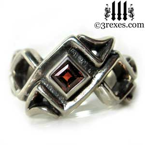 mens-bohemian-gothic-z-ring-garnet-celtic-silver-band-3-rexes-jewelry