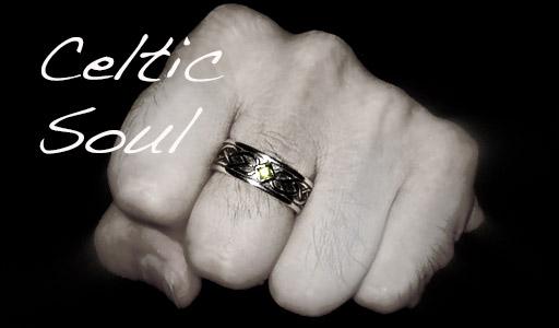 celtic wedding rings for men