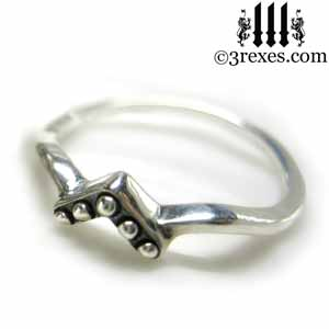 princess-love-engagement-stacking-ring starling silver gothic wedding