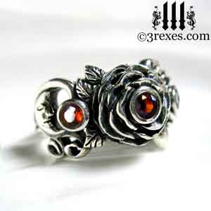 silver-rose-moon-spider-ring-gothic-red-garnet-stone-wedding-engagement-moon-side.jpg