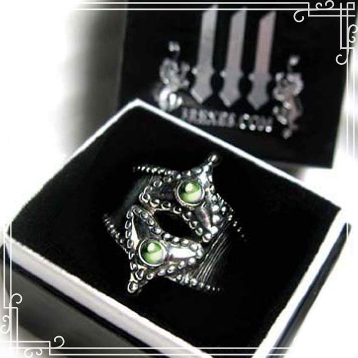 fairytale silver ring for women heart jewelry
