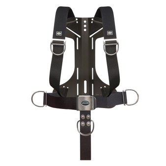 XS Scuba Tec/Rec Harness/Backplate Complete - Aluminum Travel by Highland