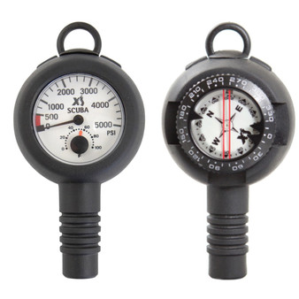 XS Scuba Back-to-Back Pressure Gauge/Compass Combo