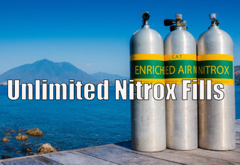 Unlimited 12 Month NITROX Fill Card - 32% Nitrox