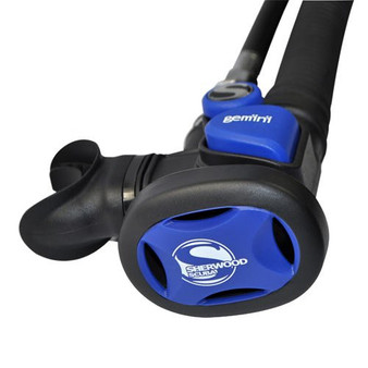 Sherwood Scuba Gemini Octo  Regulator Blue