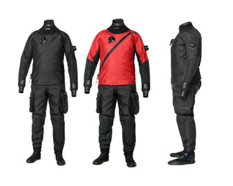 BARE X-MISSION EVOLUTION Drysuit - Red Or Black