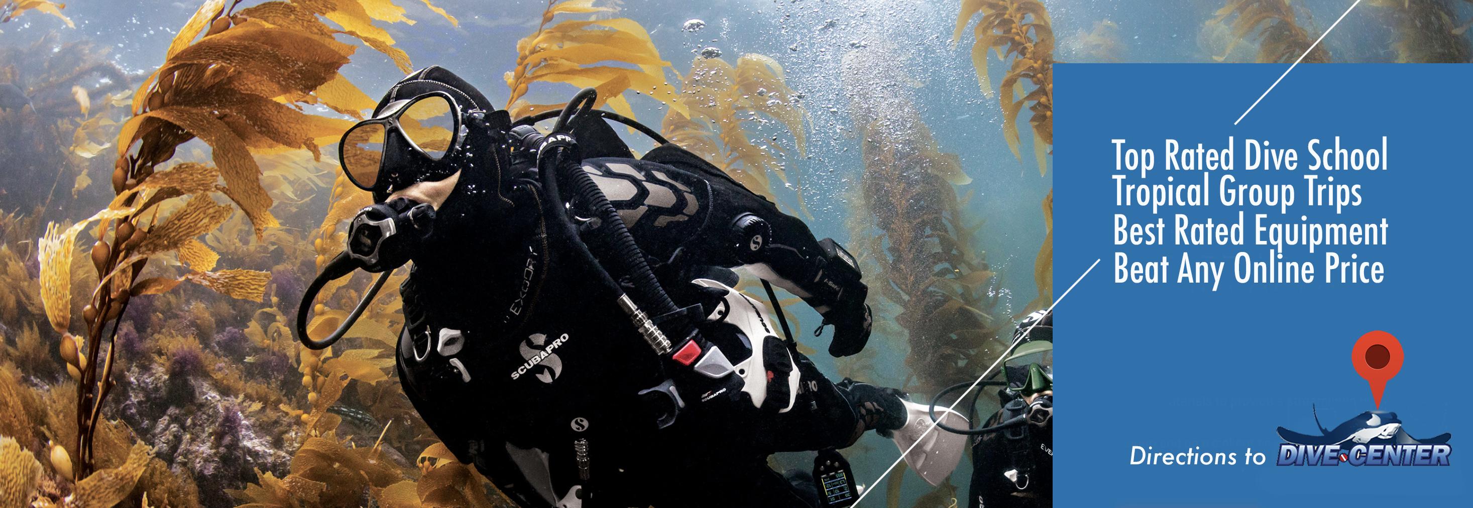 DiveCenter com is Southern California's Scuba Diving HQ