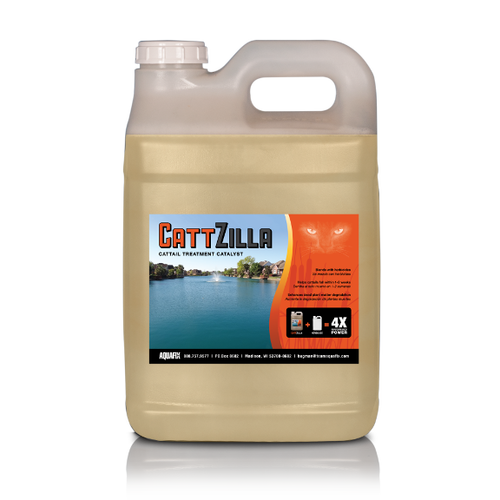 Cattzilla aquatic herbicide enhancer improves chemical penetration View Product Image