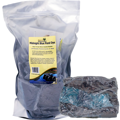 Dark Blue Pond Dye Packets View Product Image