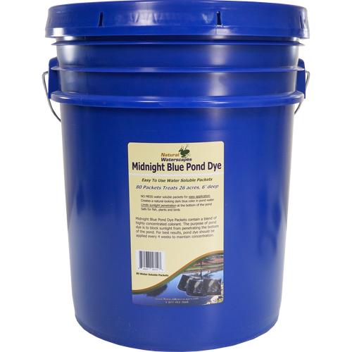 Midnight Blue Pond Dye Packets, Lake Dye View Product Image