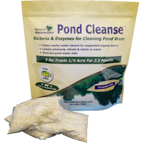 Pond Cleanse Bacteria Packets 5 lb View Product Image