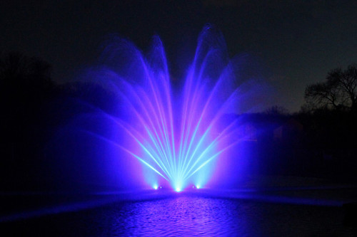 Otterbine Fountain Lighting RGBW Sequencing LED 4 Light Set View Product Image