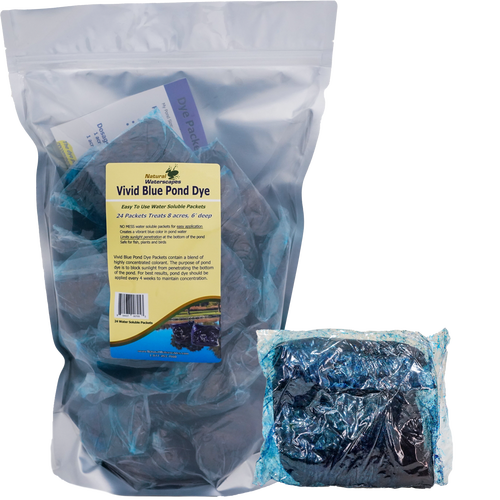 Vivid Blue Pond Dye Packets View Product Image