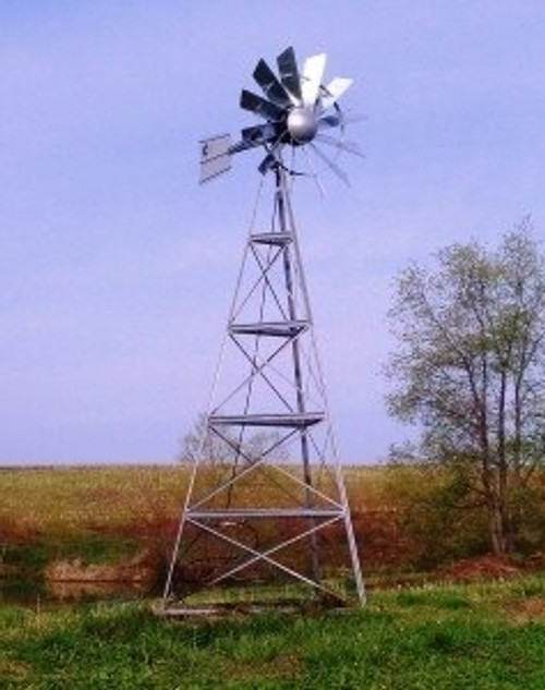 Windmill Aeration System - 12' Tower View Product Image
