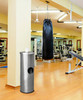 Stainless Steel Sanitizing Wipe Dispenser Gym Trash Can