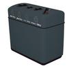 44 Gallon Fiberglass Four Opening Recycling Bin