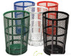 48 Gallon Metal Mesh Street Park Trash Receptacle EXP52 (5 Colors)