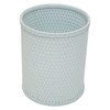 Chelsea Wicker Round Wastebasket Illusion Blue