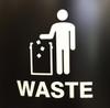 International Tidy Man Waste Decal