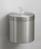 Glaro Wall Mounted Sanitizing Wipe Dispenser Satin Aluminum