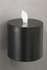 Glaro Wall Mounted Sanitizing Wipe Dispenser Satin Black