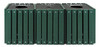 60 Gallon Ultra Site Square Recycling Center TRSQ60 (Many Options, 5 Colors)