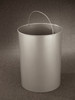 32 Gallon Round Galvanized Liner for Glaro Recycle Bins & Trash Cans