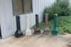3 Gallon Forte Plastic Outdoor Ashtray Cigarette Disposer 8001324