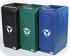 39 Gallon Forte Open Top Recycling Container 8001845