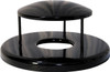 24 Inch Rain Canopy Trash Can Lid RBR-32 for Ultrasite Street Baskets (8 Colors)
