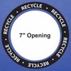 Recycle Decal for 7 Inch Openings