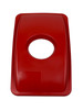 CIRCLE OPENING LID RED