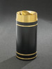 Monte Carlo TA1255 Tip Action Top Trash Can Satin Brass Cover and Bands 16 Gallon