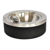 Large Capacity Flip Top Tabletop Safety Ashtray 63BLX (2 Pack)