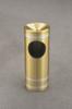 Capri F194 Satin Brass with Satin Aluminum Bands