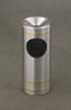 Capri F194 Satin Aluminum with Satin Brass Bands