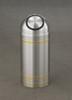 Capri S1234 Dome Top Trash Can Satin Aluminum