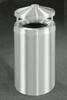 33 Gallon Satin Aluminum