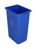 32 Gallon Extra Large Home & Office Recycling Bin Blue