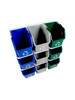 Stackable Multi Recycler 9 Pack 101379 (Blue, Gray, Green)