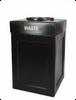 45 Gallon Open Top Indoor Outdoor Plastic Waste Can 8002903