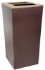 34 Gallon Metro Collection XL Ash and Trash Waste Receptacle RC-MTR-34 A/T HCPR