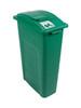 23 Gallon Green Skinny Simple Sort Compost Bin (Compost, Lift Top)