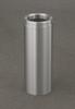 Satin Aluminum 6 Gallon F924SA Funnel Top Trash Receptacle