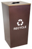 34 Gallon Extra Large Metro Collection Recycling Trash Can RC-MTR-34 R