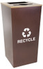34 Gallon Metro Collection Extra Large Dual Recycling Trash Can RC-MTR-34 COMBO HCPR