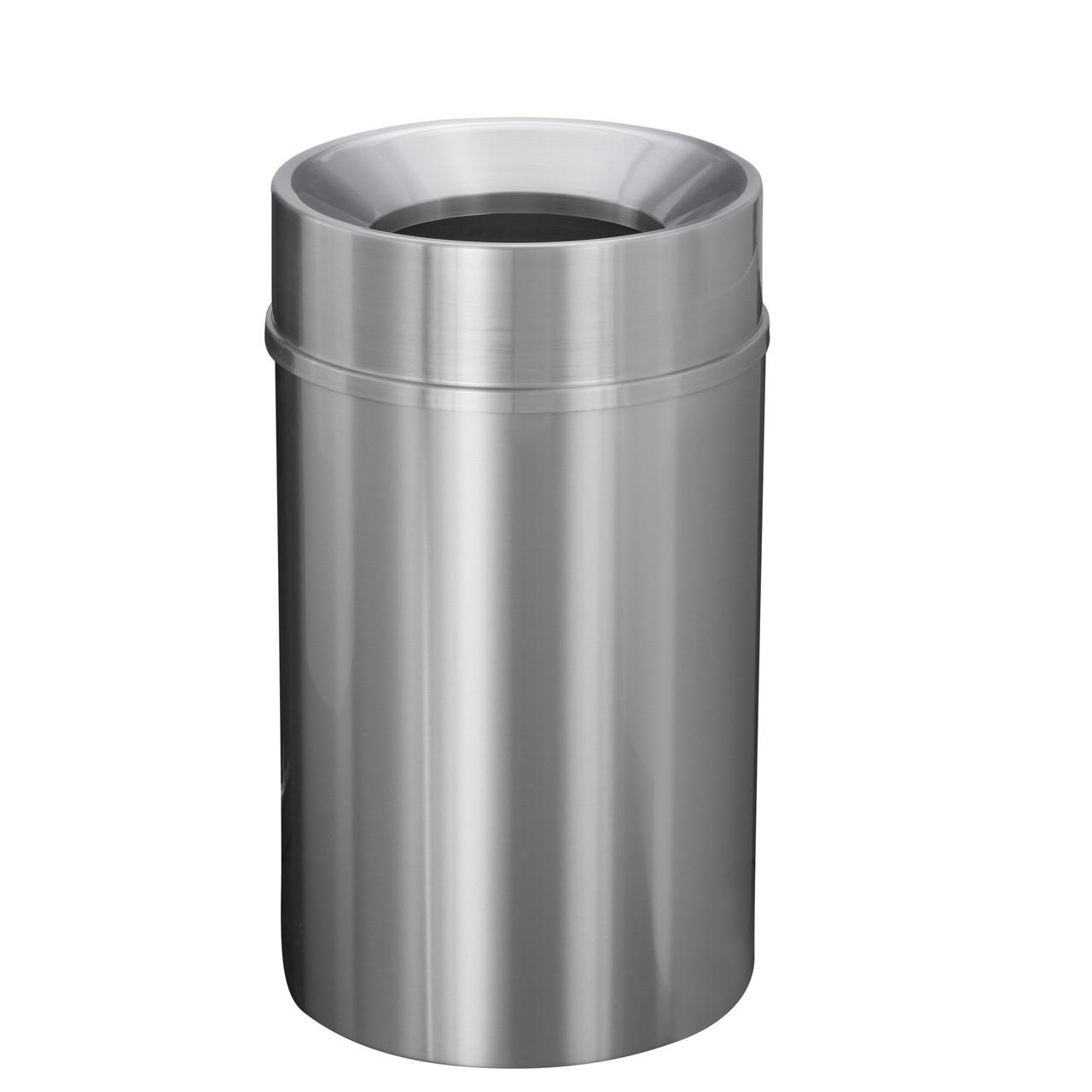New Yorker 33 Gallon F2035SA Funnel Top Trash Receptacle w/Plastic Liner