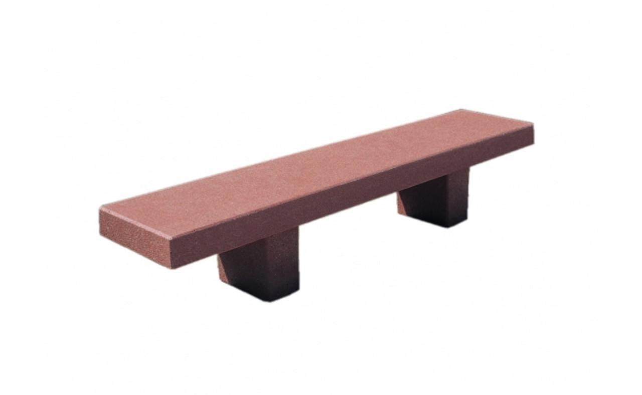 6 Foot Outdoor Concrete University Bench TF5029